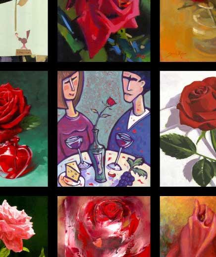 Closeup - 65 Roses